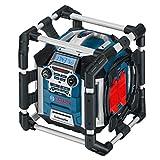 Bosch-Professional-GML-50-Akku-Baustellenradio-mit-Ladefunktion-50-Watt-Nennleistung-USB-SD-2x-Aux-In-Aux-Out-12-V-Steckdose-0601429600