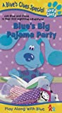 Blue's Clues - Blue's Big Pajama Party [VHS]