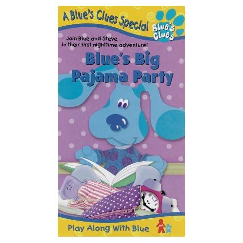 Blue s clues blue s big pajama party vhs