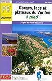 echange, troc Guide FFRP - Gorges, lacs et plateaux du Verdon à pied
