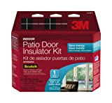 3M Indoor Patio Door Insulator Kit, 1-Patio Door