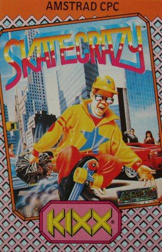 Kixx - Skate Crazy Amstrad CPC Game