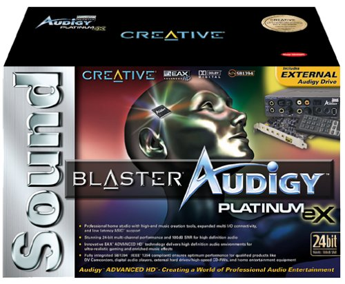 Best Price For Creative Labs Sound Blaster Audigy Platinum eX