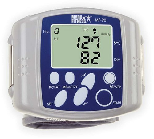 Cheap Mark of Fitness MF-90  Wrist Blood Pressure/Body Fat Monitor (MF-90)