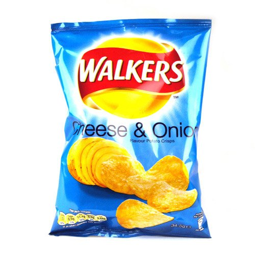 Walkers Crisps Cheese And Onion X 48 1656G front-32187