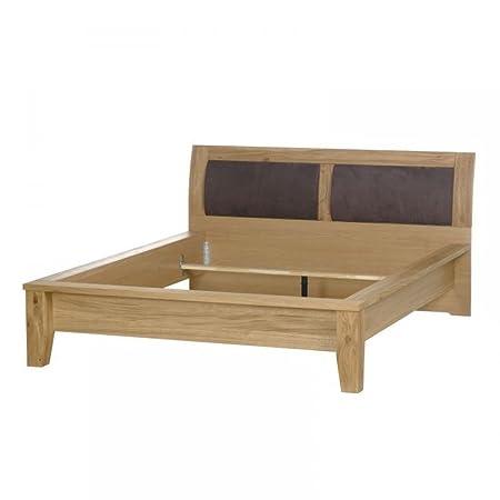 Telmex 50EITR52 Bett, Holz, braun, 223,7 x 184 x 98 cm