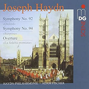 "Haydn: Symphonies Nos. 92 (""Oxford"") & 94 (""Surprise""); La fedeltà premiata Overture [Hybrid SACD]"