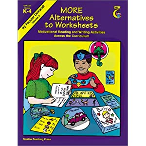 More Alternatives to Worksheets