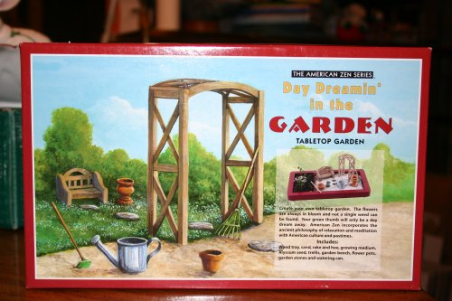 American Zen Series Day Dreamin' in the Garden Tabletop Garden