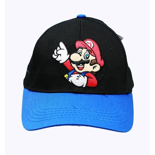 Super Mario Adjustable Hat   Super Mario Brothers Baseball Cap