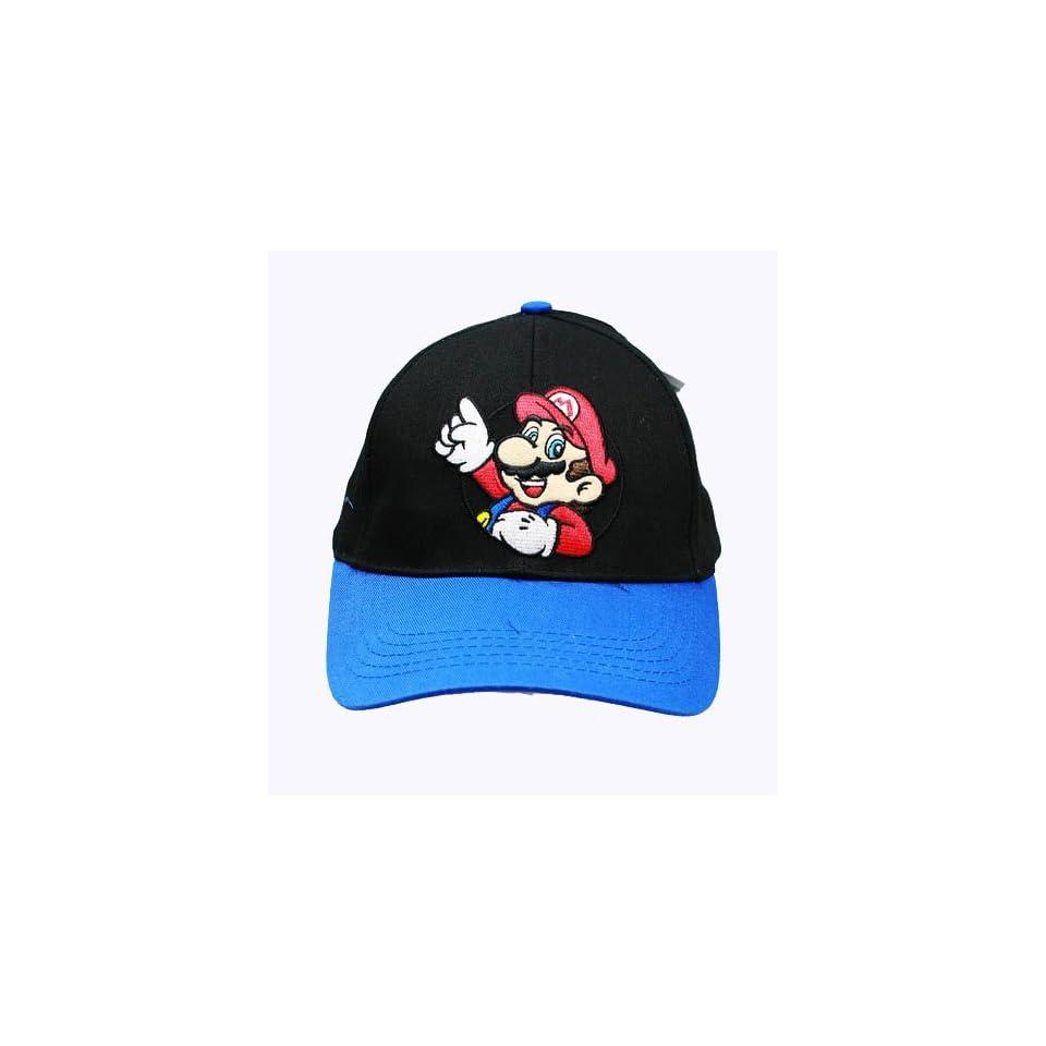 Super Mario Adjustable Hat   Super Mario Brothers Baseball Cap
