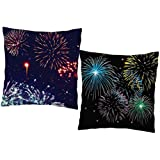 MySocialTab Diwali Gift Set Of 2 Printed Cushion,DIWALIGIFTS899MST - Cushion 2,Diwali Special Gift For Home, Diwali...