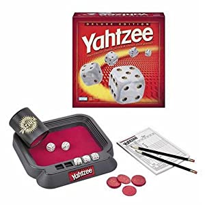 Click to buy Yahtzee Deluxe Edition from Amazon!