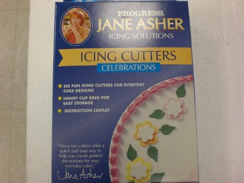 Jane Asher Icing Cutters: Celebrations