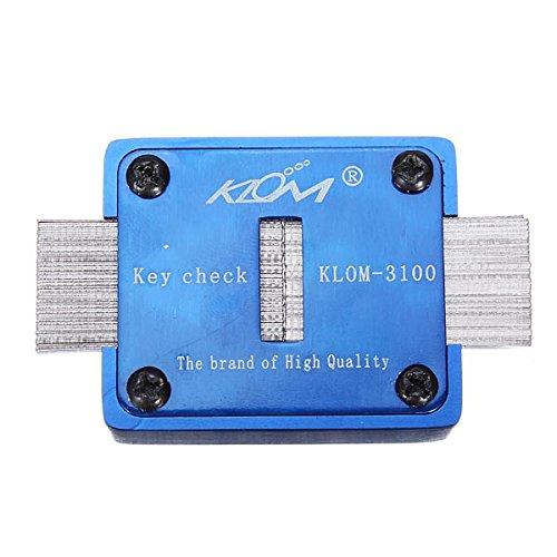 Klom-3100 Key Check Keyway Check Keys Duplication Association Tools
