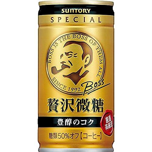 [일본 산토리 보스 캔커피 / SUNTORY BOSS COFFEE] 산토리 커피 보스 호화미당 185g×30개