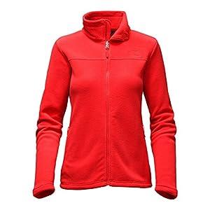 The North Face Women's Khumbu Fleece Jacket (Large, High Risk Red)