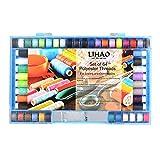 LIHAO 手縫い系 ミシン系 64個セット 32色の100%ポリエステル素材 常備糸 ソーイング糸 裁縫 手芸 刺繍用糸