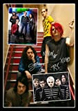 My Chemical Romance Signed/ Autographed Montage Print
