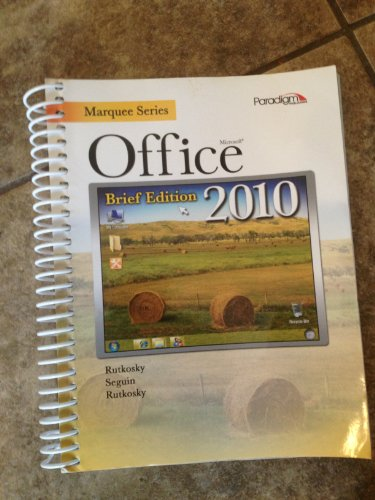 Marquee Series: Microsoft Office 2010-Brief Edition