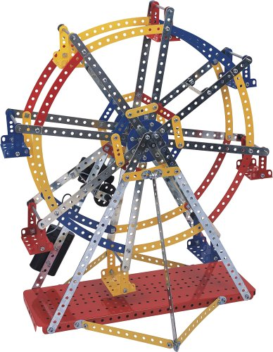 Best Meccano Sets And Toys For Kids : Meccano metal system ferris wheel set pc find best