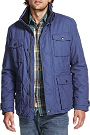 North Coast Pure Cotton Padded Military Jacket [T16-2181N-S]