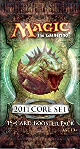 2011 Core Set Booster Pack (M11) Magic The Gathering CCG