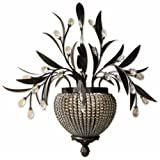 Uttermost, Cristal De Lisbon 2-Lt Wall Sconce, Lighting Fixture