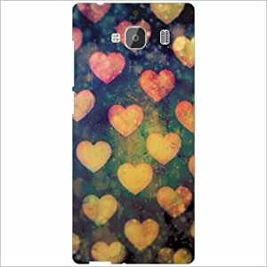 Redmi 2 Prime Back Cover - Heart Designer Cases