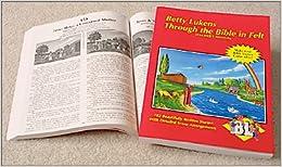 Betty Lukens A traves de la Biblia en Fieltro Manual del