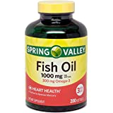 Spring Valley Fish Oil Supplement 1000 Mg