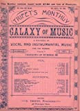 img - for Antique Music Journal: TRIFET'S MONTHLY GALAXY OF MUSIC: A Magazine of Vocal and Instrumental Music for the Masses, Volume V, December 1891, No. 60 book / textbook / text book