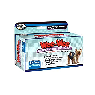 Wee-Wee Products Disposable Dog Diaper Super Absorbent Liners