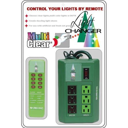... .com - Barcana Remote Control Christmas Tree Christmas Lighting Kit