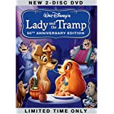 Lady and the Tramp (Two-Disc 50th Anniversary Platinum Edition) ~ Barbara Luddy