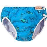 Imse Vimse Swim diaper turquoise fish SL 28-37 lbs.