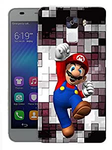 "Humor Gang Gamer Boy Printed Designer Mobile Back Cover For ""Huawei Honor 7"" (3D, Matte, Premium Quality Snap On Case)"