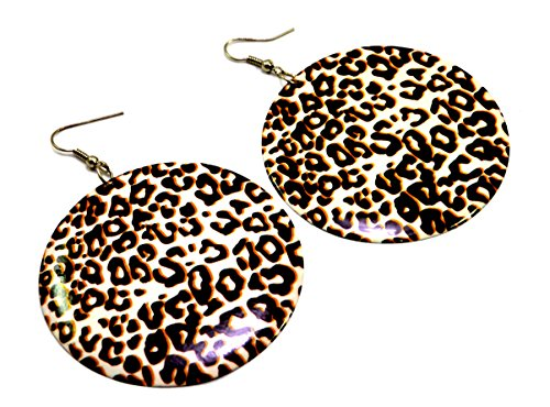 A Pair of Indian Womens Girls Cute White Metal Earrings Fashion Jewelry