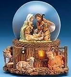 Fontanini Musical Lighted Nativity Stable Scene Christmas Glitterdome