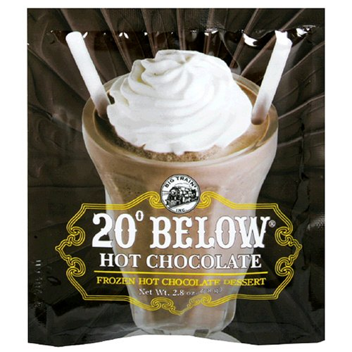 Big Train 20 Below Frozen Hot Chocolate Dessert, 2.8-Ounce Bags (Pack of 25)