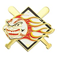 Baseball – Flaming Ball Pin