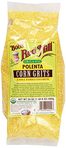 Bob's Red Mill Organic Corn Grits/Polenta - 24 oz - 2 Pack (Corn Grits compare prices)