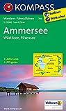 Ammersee - Wörthsee - Pilsensee: Wanderkarte mit Aktiv Guide und Radrouten. GPS-genau. 1:25000 (KOMPASS-Wanderkarten)