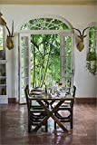 Laminated Hemingway House, Hemingway Museum at Finca Vigia, Havana, Cuba by Adam Jones / Danita Delimont Museum Quality Fine Art Print sold by Great Art Now, size 26x38 inches. This double sided laminated print is popular in our Architectural...