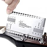 Andoer String Action Ruler Gauge Tool for Guitar Bass