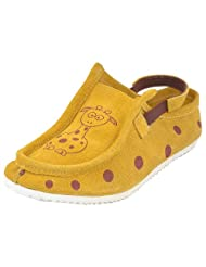 Willy Winkies Boys WW-105 Yellow Shoes