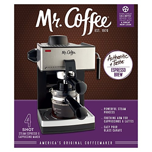Mr-Coffee-4-Cup-Steam-Espresso-System-with-Milk-Frother-ECM160