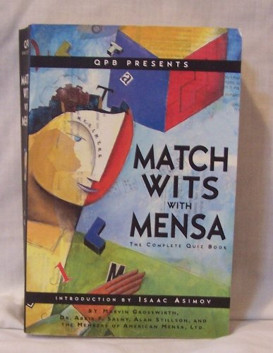 Match Wits With Mensa Complete Quiz Book, Grosswirth, Marvin