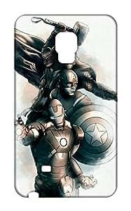 Samsung Galaxy Note Edge Back Cover - Printed Designer Cover - Hard Case - SGNEZUPKSUPMSCB0153