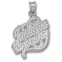Indiana University Script - 14K Gold by Logo Art